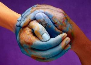 manos mundo amor