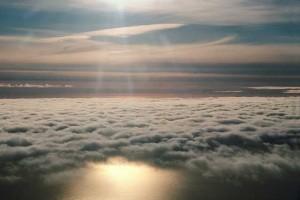 nubes que pasan