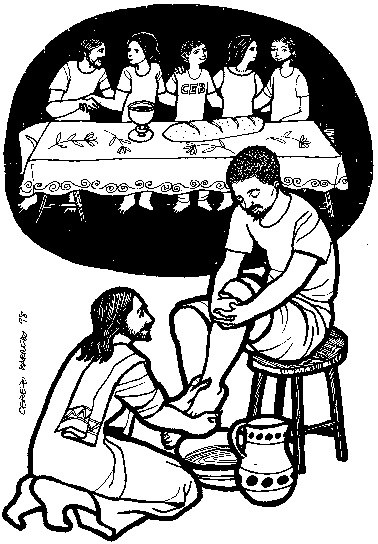 Dibujos de semana santa para colorear :: Dibujos de pascua