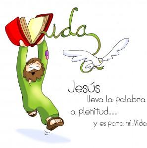 Jesus lleva la palabra a plenitud fano
