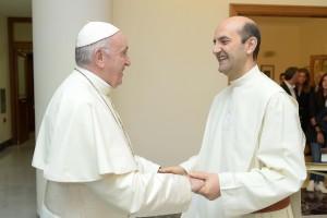 Papa Francisco y Fernando Cordero blog