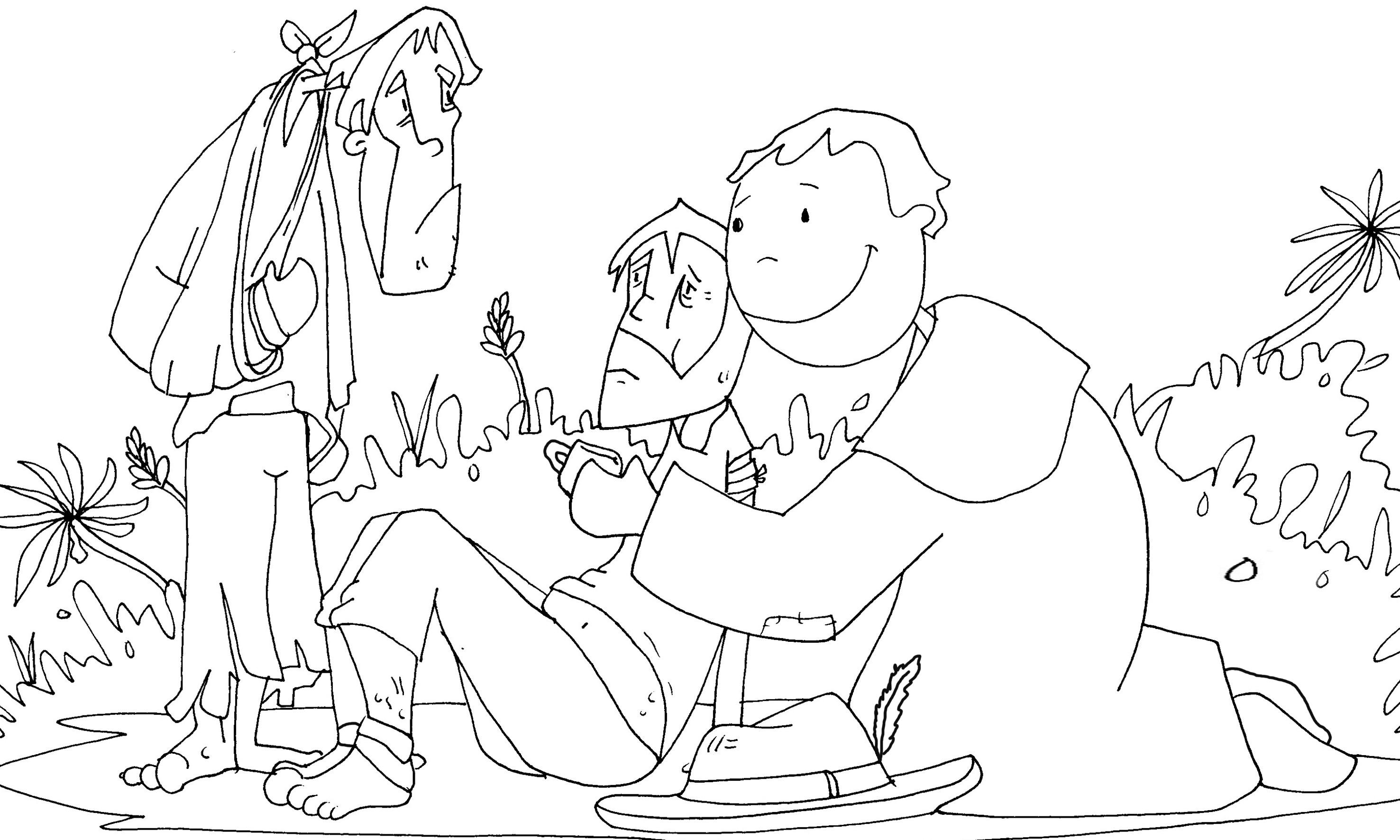 Dibujos De Las Misiones: Hermoso Imagenes Para Colorear De Jesus De Nazaret