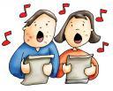 Niños cantando con lepra