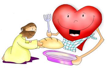 Cristo pan y corazón