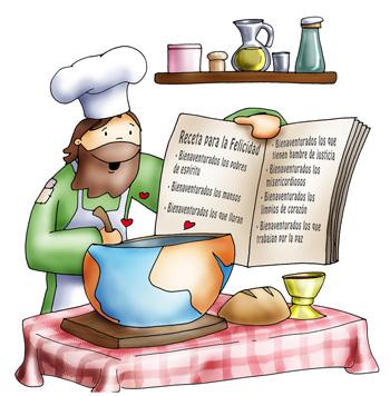 Jesús cocinero color