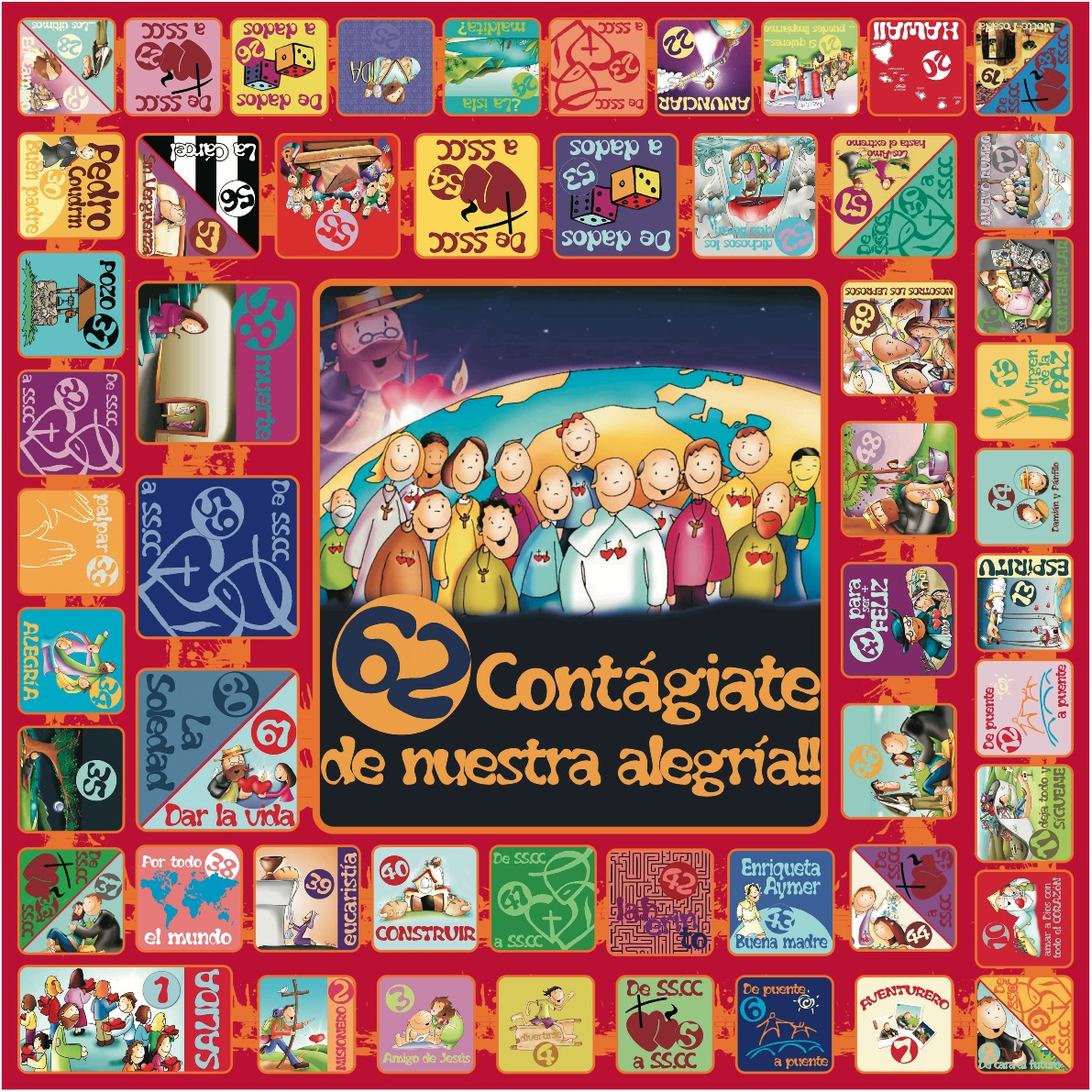 La catequesis el blog de sandra noviembre 2012 - Juego de la oca ...