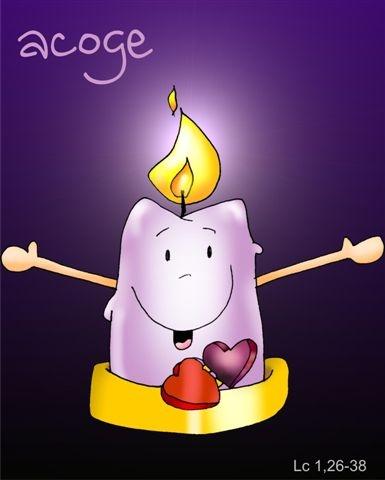 Kamiano la vela candelita - Velas adviento ...