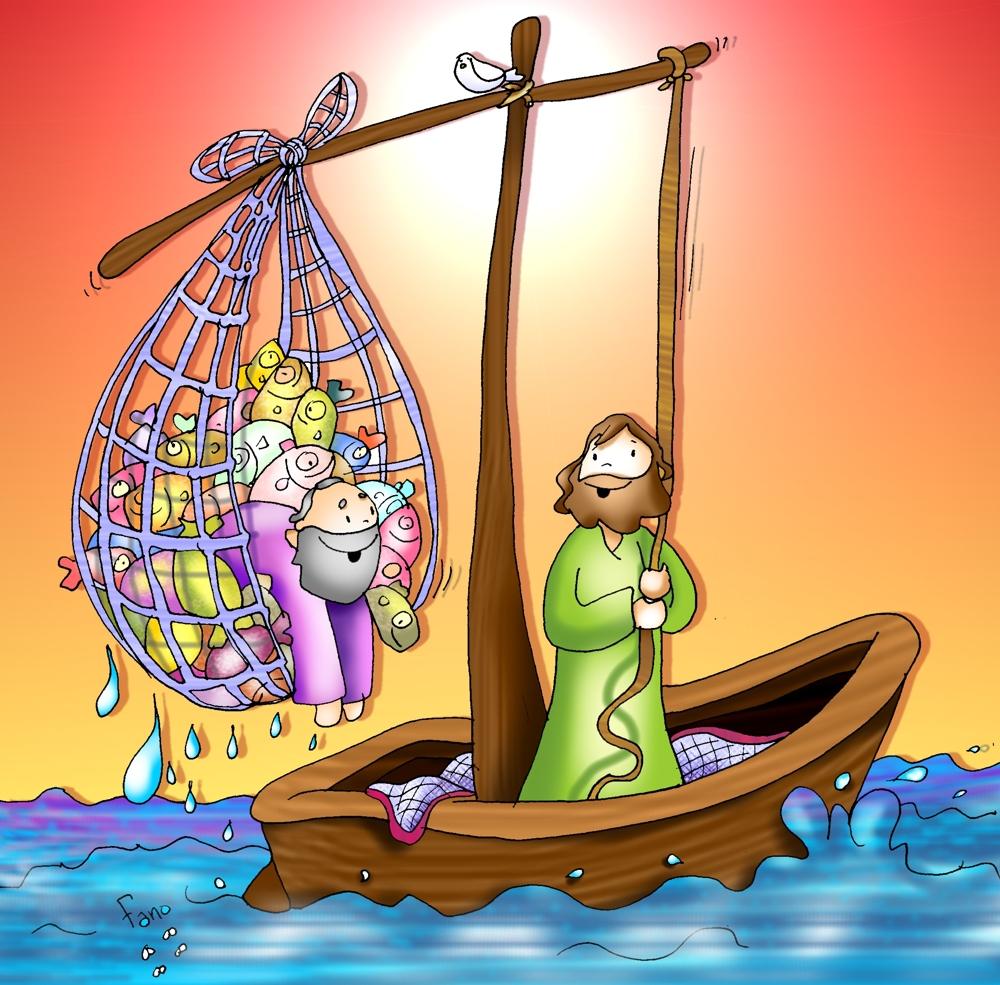 """Kamiano » """"Pescados"""" por Jesús"""