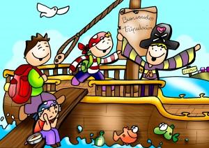 viaje pirata