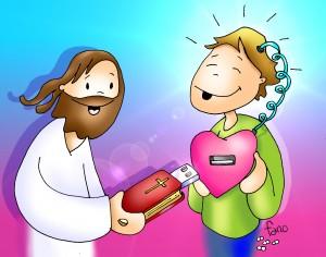 jesus con pendrive de fano