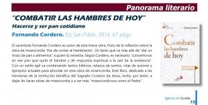 Combatir las hambres de hoy en Iglesia en Sevilla