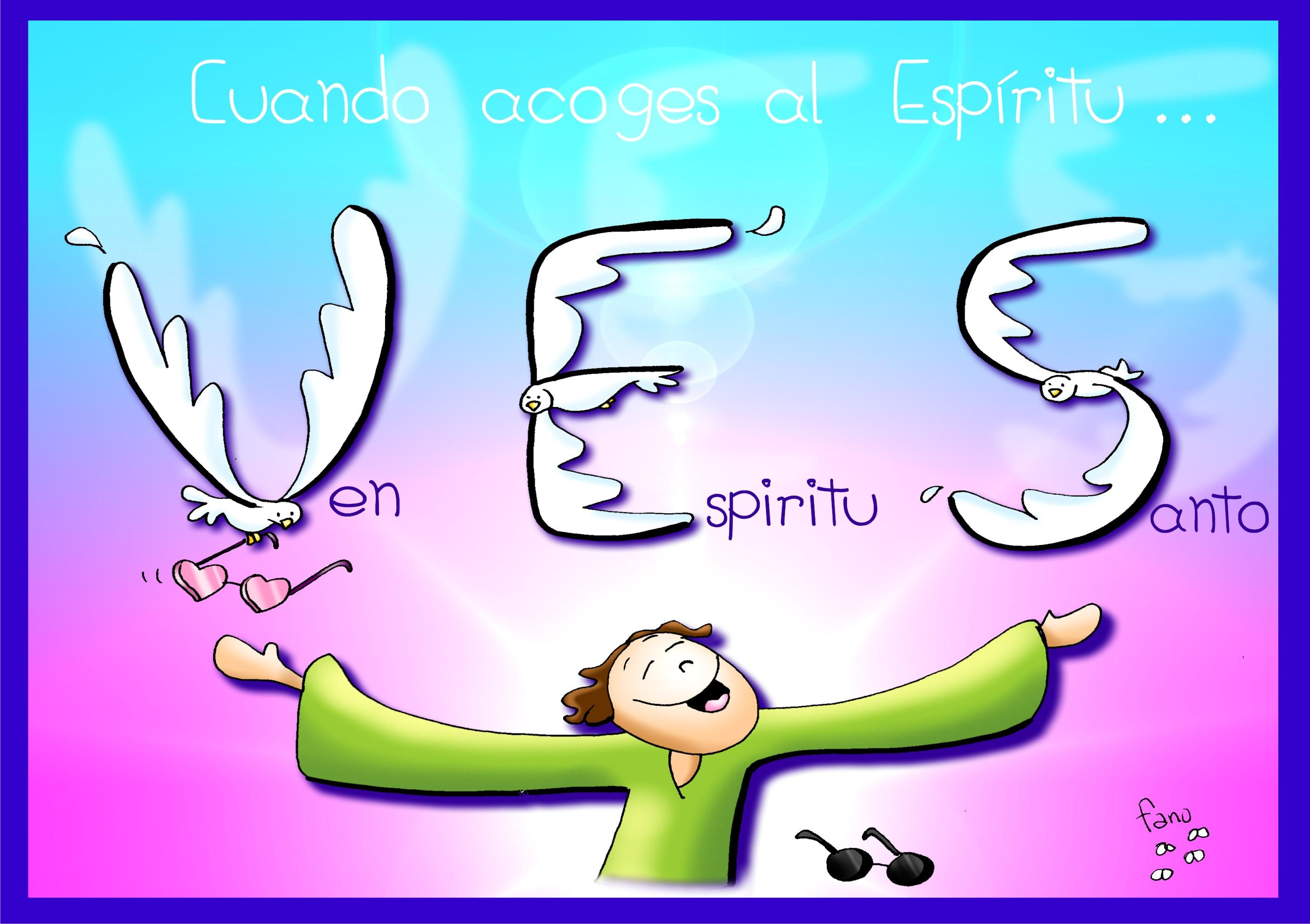 Resultado de imagen de ¡Ven Espíritu Santo! por Fano