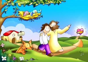 dejar todo para seguir a Jesus color