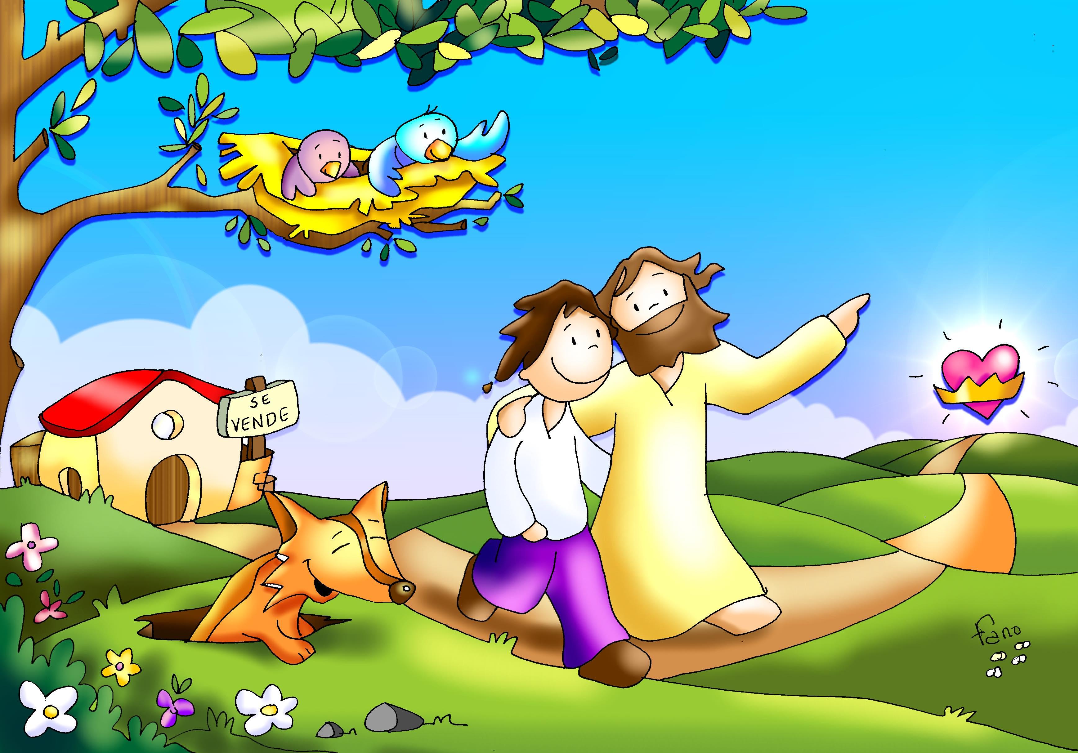 Kamiano » dejar todo para seguir a Jesus color