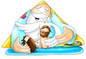 bautismo y trinidad fano color