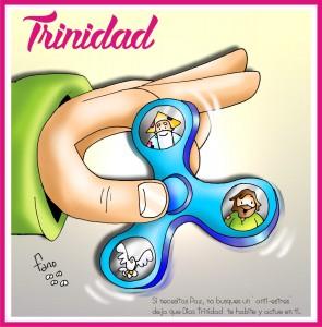 el spinner de la trinidad letras fano