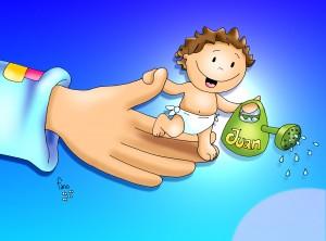 nacimiento juan bautista color