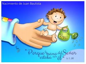 nacimiento juan bautista texto