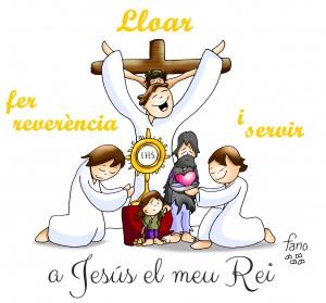 cat viviire para alabar hacer reverencia y serv ir a Jesús mi Rey20181125_Jn 18,33b-37_cat