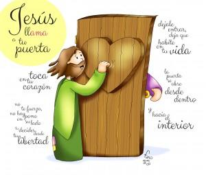 jesus llama a tu puerta fano texto