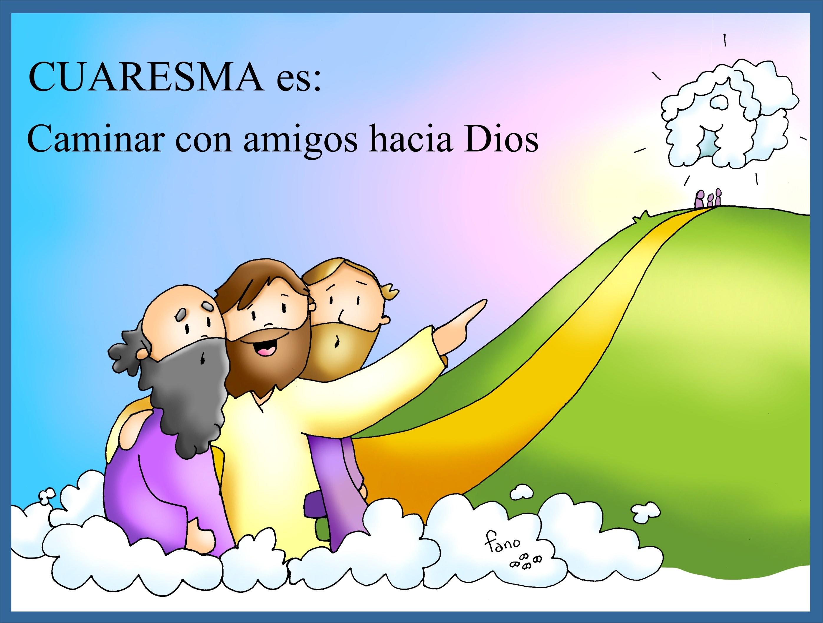 Kamiano » Cuaresma: tiempo de amigos con los que caminar hacia Dios