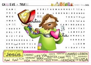 745Jesus es el VERDADero CAMINO para  tener VIDA20200510_Jn 14,1-12_cat