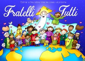 Amar a Dios sobre todas las cosas y al projimo  _fratelli tutti_20201025_Mt 22, 34-40_cat