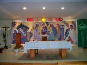 parroquia guadalupe altar