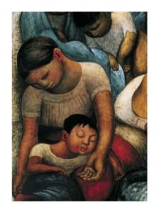 Diego-Rivera-La-Noche-de-los-Pobres