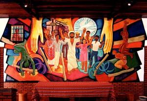 Cristo y mártires
