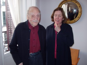 Ayala y Carolyn Richmond, su mujer