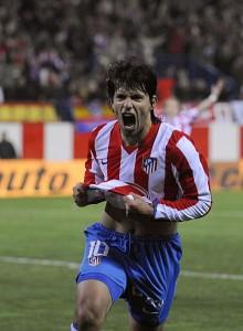 Kun Agüero, jugador del Atlético de Madrid