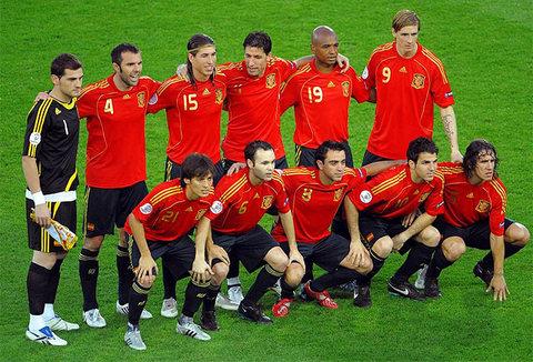 La roja triunfante en 2008