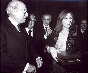 Tierno y Susana Estrada