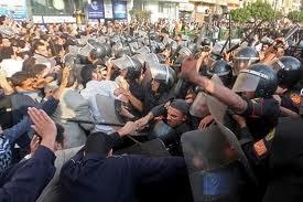 La rebelión egipcia