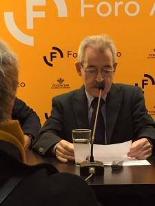 Teófilo en la librería Cervantes de Asturias. Año 2016