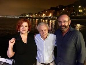 Con María y Juan Ramón