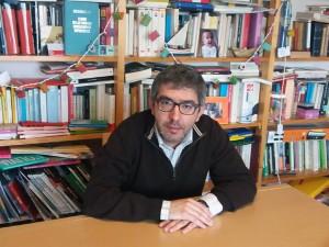 """Jordi Amat, autor de """" El hijo del chófer"""""""